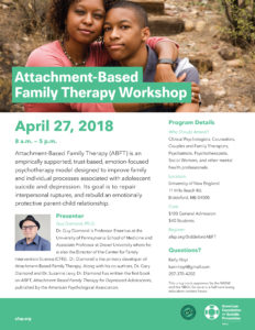 Attachment-Based Family Therapy Workshop