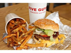 Jul 19 – Five Guys Fundraiser for Suicide Prevention