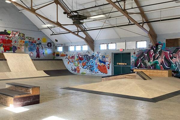 bath skatepark improvements